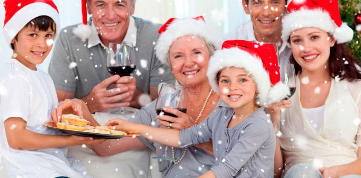 comida de navidad ancianos