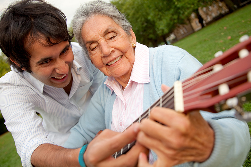 Demencia Senil en ancianos