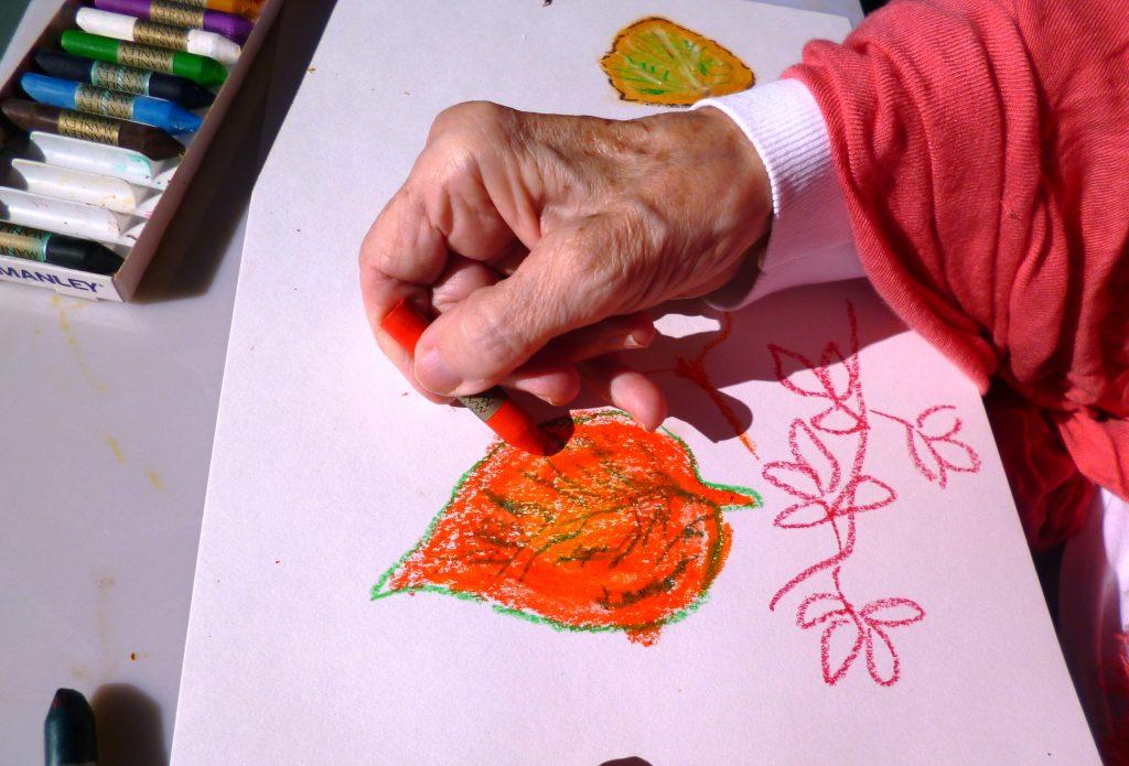 Pintura en la tercera edad