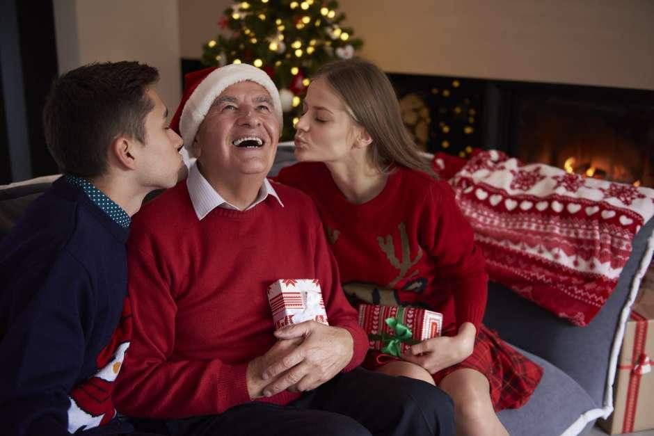 navidad y adultos mayores