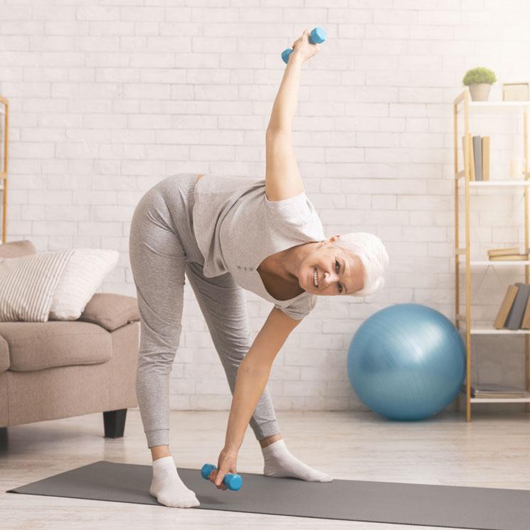 ejercicio en casa para personas mayores