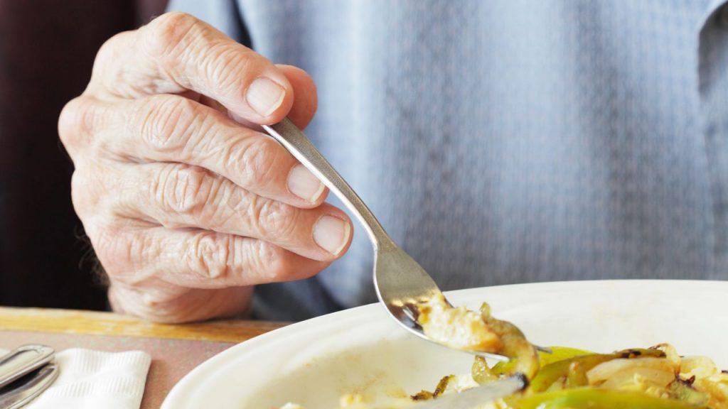 Diabetes en personas mayores: comida